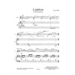 Carré Gilles - L'addition (flûte & harpe)