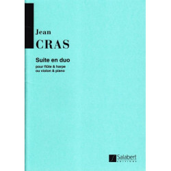 Cras Jean - Suite en duo (flûte ou violon & harpe ou piano)