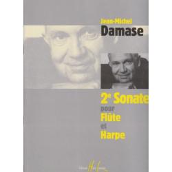 Damase Jean-Michel - 2° sonate pour flûte et harpe