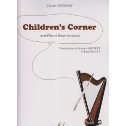 Debussy Claude - Children's corner (flûte & harpe)