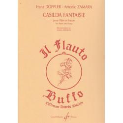 Doppler Franz - Zamara Antonio - Casilda fantaisie (flûte & harpe)