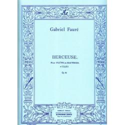 Fauré Gabriel - Berceuse (flûte ou hautbois et piano)