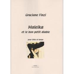 Finzi Graciane - Maleïka et le bon petit diable (flûte et harpe ou harpe celtique)