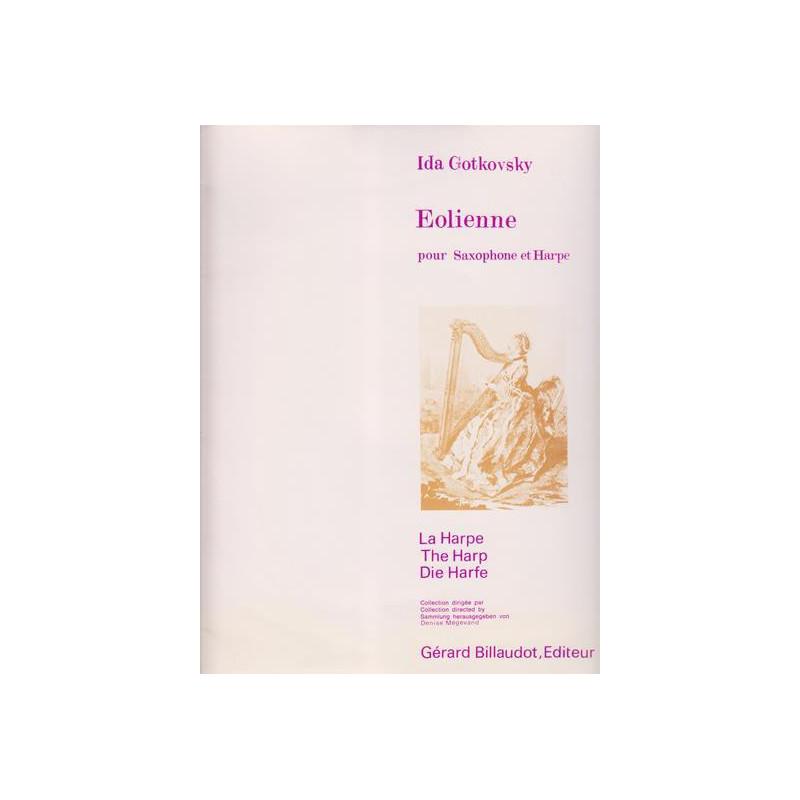 Gotkovsky Ida - Eolienne (saxophone & harpe)