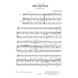 Grognet Gérard - Mélancolie (flûte & harpe)