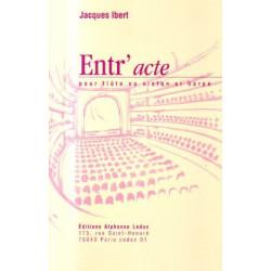 Ibert Jacques - Entr'acte (flûte ou violon & harpe)