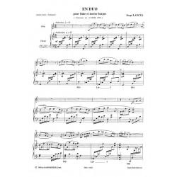 Lancen Serge - En duo (flûte & harpe)