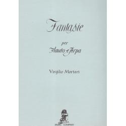 Mortari Virgilio - Fantaisie (flute and harp)