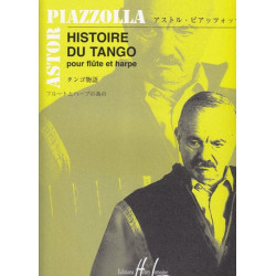 Piazzolla Astor - Histoire du Tango (flûte & harpe)