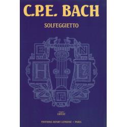 Bach Carl Philipp Emmanuel - Solfeggietto Urtext