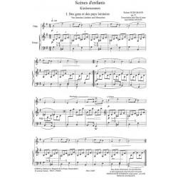 Schumann Robert - Scènes d'enfants (Kinderscennen) (flûte & harpe)