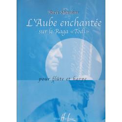 Shankar Ravi - L'aube enchantée (flûte & harpe)