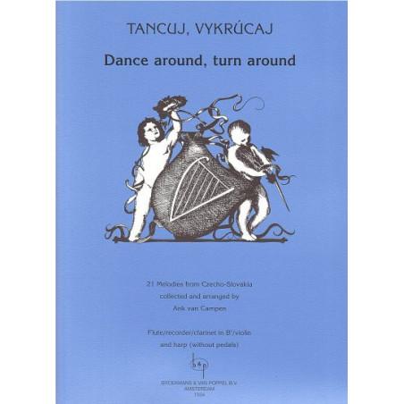 Tancuj Vykrucaj - Dance around, turn around (fl
