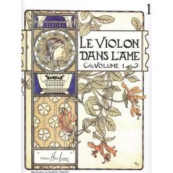 Anonyme - Le violon dans l'âme vol.1 (Violon & harpe ou piano)