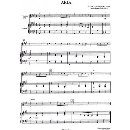 Anonyme - Le violon dans l'
