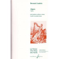 Andrès Bernard - Algues (hautbois, flûte ou violon & harpe)