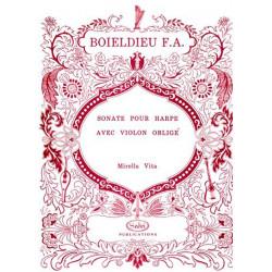 Boieldieu François Adrien - Sonate pour harpe avec violon obligé