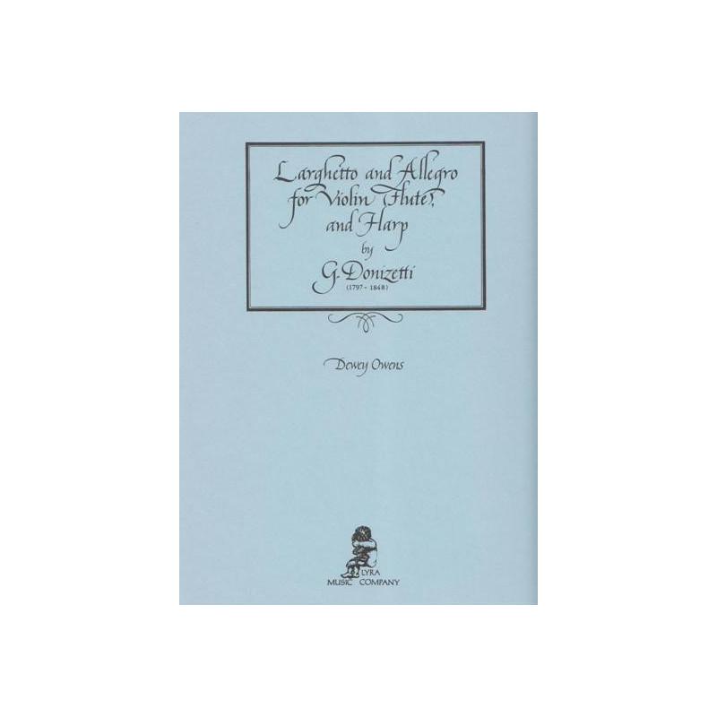 Donizetti Gaetano - Larghetto & allegro (Violon & harpe)