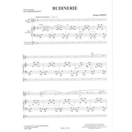 Erdos Jacques - Budinerie (fl