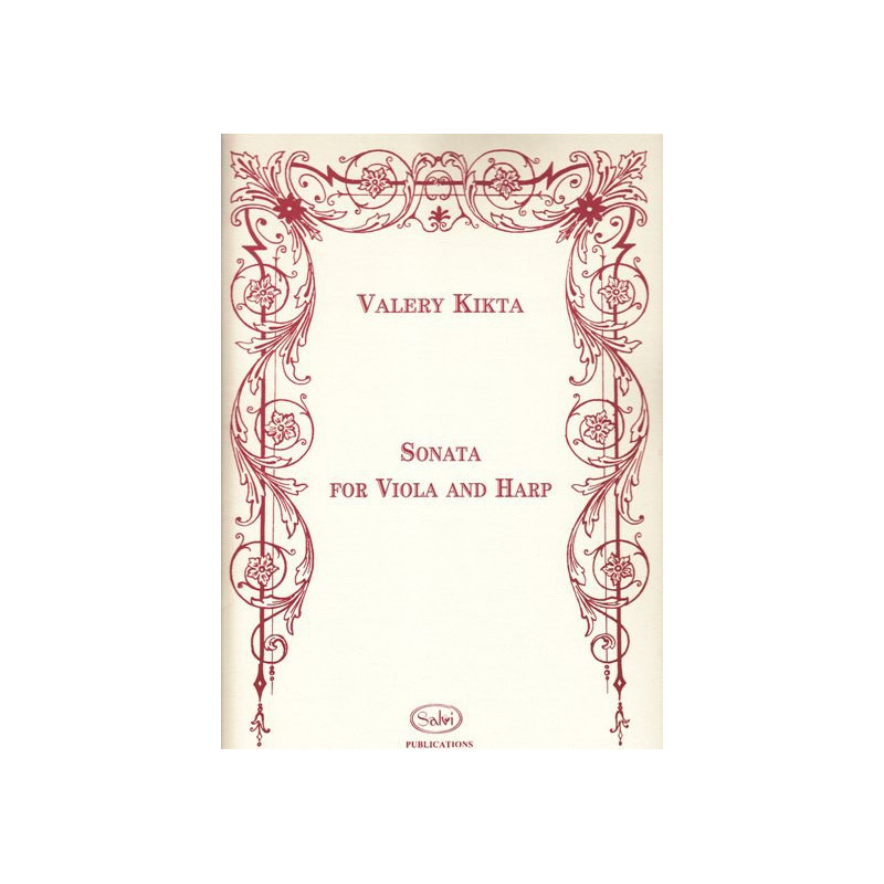 Kikta Valery - Sonata for viola and harp (alto & harpe)