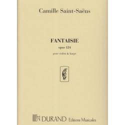 Saint Saëns Camille - Fantaisie (Violon & harpe)