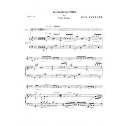 Succari Dia - Au palais du temps (flûte ou violon & harpe ou piano)