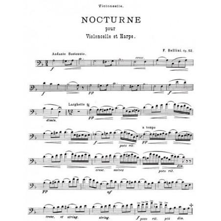 Bellini Fermo - Nocturne op.12 (violoncelle & harpe)