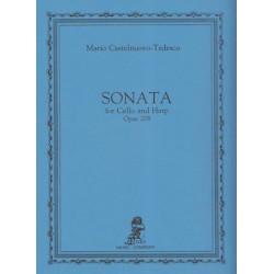 Castelnuovo-Tedesco Mario - Sonate op.208 (violoncelle & harpe)