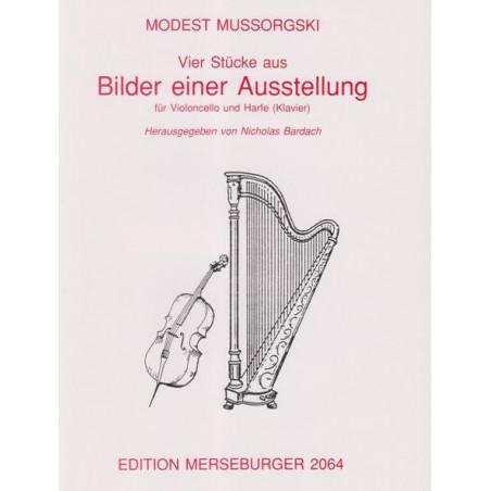Mussorgski Modest - 4 St