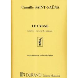 Saint Saëns Camille - Le cygne (violoncelle & piano)