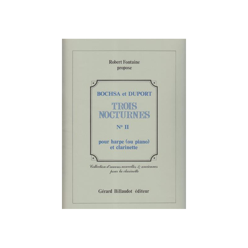 Bochsa Nicolas-Charles - Duport Louis - Nocturne n