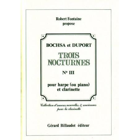 Bochsa Nicolas-Charles - Duport Louis - Nocturne n
