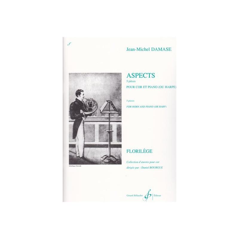 Damase Jean-Michel - Aspects (cor et piano ou harpe)
