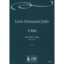 Jadin Louis-Emmanuel - 4 Arie per corno e arpa (horn and harp)