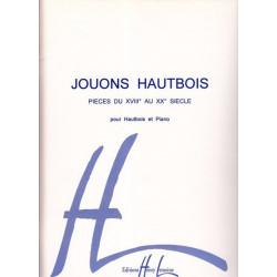Kasic Gilles - Jouons hautbois (Hautbois & harpe ou piano)