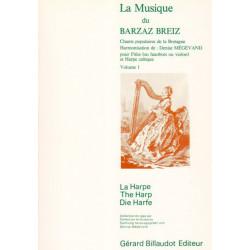 Mégevand Denise - La musique du Barzaz Breiz (flûte ou hautbois ou violon & harpe)