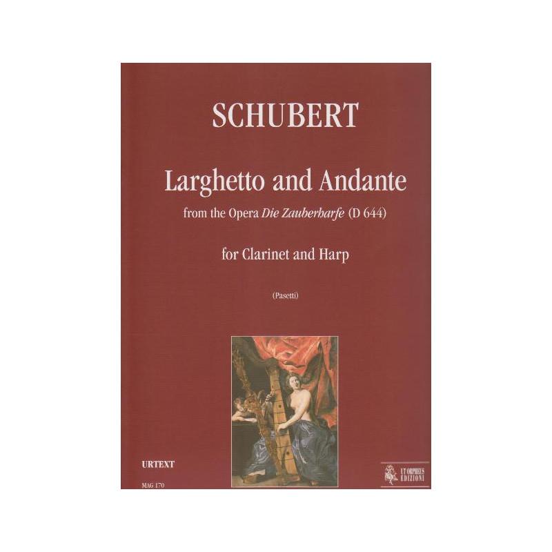 Schubert Franz - Larghetto e Andante (dall'opera die Zauberharfe) (clarinette & harpe)