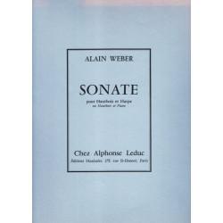Weber Alain - Sonate (hautbois & harpe)