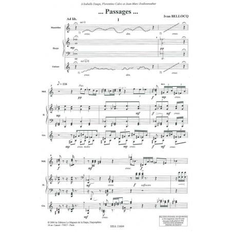Bellocq Ivan - Passages (mandoline, harpe & guitare)