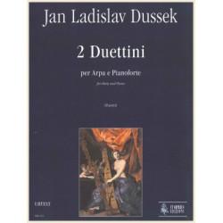 Dussek Jan Ladislav - 2 Duettini (Urtext)