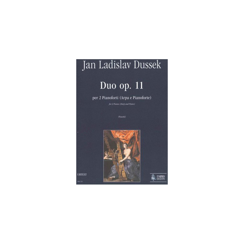 Dussek Jan Ladislav - Duo Op. 11 (harpe et piano)
