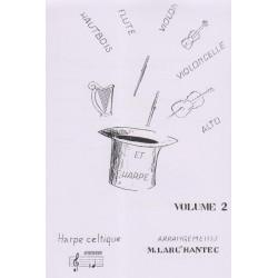 Larc'hantec Mariannig - Harpe + Vol. 2 (flûte, violon, violoncelle ou hautbois & harpe)