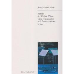 Leclair Jean-Marie - Sonate in D-dur (D major)(violon ou fl