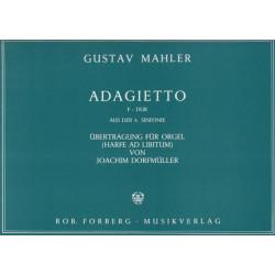 Mahler Gustav - Adagietto (harpe & orgue) / Forberg