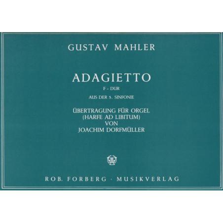 Mahler Gustav - Adagietto (harpe & orgue)