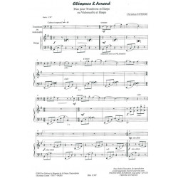 Siterre Christian - Clémence & Arnaud (trombone ou violoncelle & harpe ou piano)
