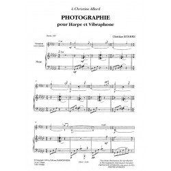 Siterre Christian - Photographie (percussion & harpe)