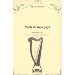 Anonyme - Noëls de tous pays (harpe celtique & voix)