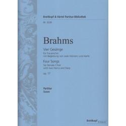 Brahms Johannes - Vier Ges