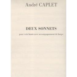 Caplet André - 2 sonnets (voix & harpe)